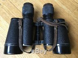 Rare Ww2 German Kriegsmarine submarine uboat Carl zeiss binoculars U-77
