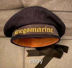 Reproduction Wwii Military German Navy Naval Kriegsmarine Donald Duck Hat Cap