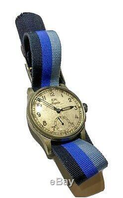 Siegerin KM German Officer Watch WWII. Kriegsmarine WW2 Military Alpina Pilot