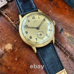 Super Rare WW2 German Kriegsmarine Issued Storz Wristwatch c. 18/12/1942 PUW 500
