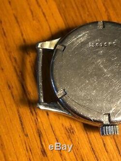 Vintage Kriegsmarine WWII German Navy Watch Alpina Swiss Rare