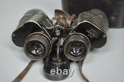 Vintage WWII WW2 German 7x50 Kriegsmarine Binoculars BLC Carl Zeiss Jena U-Boat
