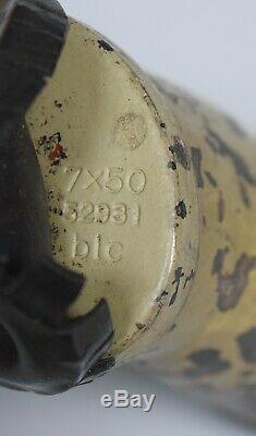 Vintage WWII WW2 German Carl Zeiss Jena BLC 7x50 Kriegsmarine U Boat Binoculars
