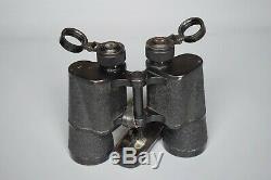 Vintage WWII WW2 German Srb & Stys BMK 7x50 T Kriegsmarine U Boat Binoculars