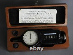 WW2 GERMAN KRIEGSMARINE Tachometer Probator for U-BOAT CREW +case & paper D. R. P