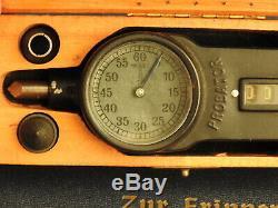 WW2 GERMAN KRIEGSMARINE Tachometer Probator for U-BOAT UJ-Boat Battleship w case
