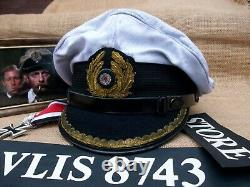 WW2 GERMAN KRIEGSMARINE U-BOAT CAPTAIN PHILIPP THOMSEN cap (das boot)