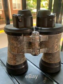 WW2 GERMAN KRIEGSMARINE U-BOAT COMMANDER'S 7x50 ZEISS BLC BINOCULARS. MAKE OFFER