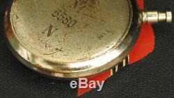 WW2 GERMAN KRIEGSMARINE U-BOAT UJ-Boat Torpedo Timer STOPWATCH HANHART #5580 N