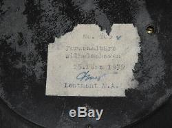 WW2 German BAROMETER KRIEGSMARINE BATTLESHIP Schiff TIRPITZ Wilhelmshaven 1939
