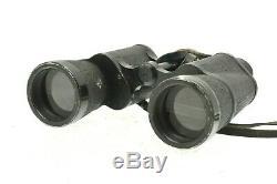 WW2 German Binoculars DF 7x50 ARTL Coastline Artillery Kriegsmarine with case