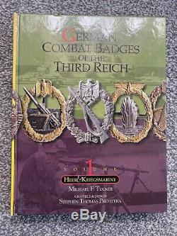 WW2 German Combat Badges Of The Third Reich 1 Heer & Kriegsmarine Reference Book
