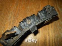WW2 German KRIEGSMARINE K98 Leather Ammo Pouch #1 VERY RARE