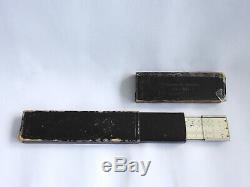 WW2 German KRIEGSMARINE U-BOAT U-BOOT 5th U-FLOTILLA slide rule D. R. P. W case