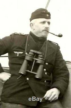 WW2 German Kriegsmarine 7x50 Leitz U-BOAT BINOCULARS #2 NICE
