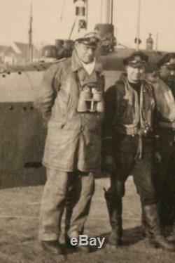 WW2 German Kriegsmarine 8x60 Zeiss U BOAT COMMANDER BINOCULARS & BOX RARE