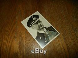 WW2 German Kriegsmarine Autograph ADMIRAL KARL DONITZ Signed Postcard
