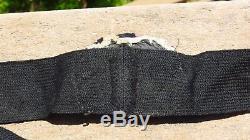 WW2 German Kriegsmarine Cap Hat Badge Bullion Cockade with Wreath & Band