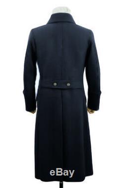 WW2 German Kriegsmarine EM Navyblue wool Greatcoat 3XL