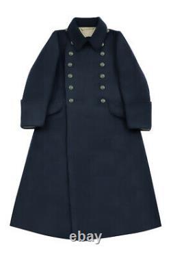 WW2 German Kriegsmarine EM Navyblue wool Greatcoat M