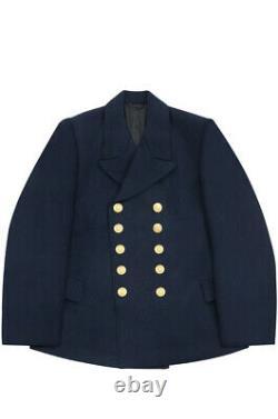 WW2 German Kriegsmarine EM navy blue wool PEA tunic jacket 3XL