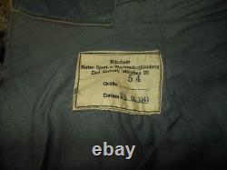 WW2 German Kriegsmarine Foul Weather / U-Boat Deck Pants #2 VERY NICE