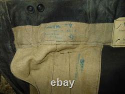 WW2 German Kriegsmarine Foul Weather / U-Boat Deck Pants #3 NICE