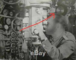 WW2 German Kriegsmarine Junghans NAVY SHIP U-BOAT CLOCK RARE COLOR