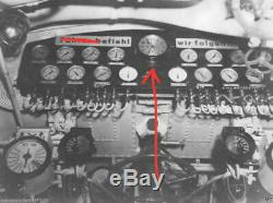 WW2 German Kriegsmarine K&O NAVY U-BOAT SHIP CLOCK #2 BLACK VERY RARE