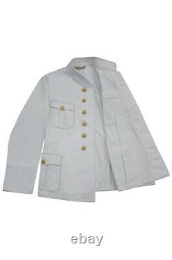 WW2 German Kriegsmarine M29 Officer Summer white Jacket tunic M