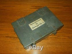 WW2 German Kriegsmarine MINESWEEPER DEMOLITION CHARGE BOX RARE