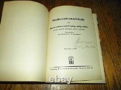 WW2 German Kriegsmarine Marinewörterbuch Stichwortverzeichnis Book VERY RARE