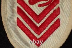 WW2 German Kriegsmarine NCO U-Boat Diver Specialty Trade Badge Summer White RARE