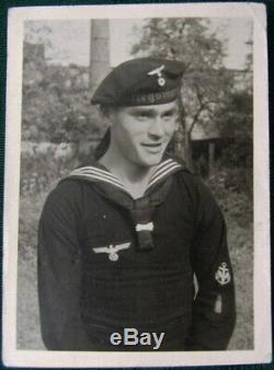 WW2 German Kriegsmarine Neckerchief KNOT / NECK SCARF #2 VERY NICE