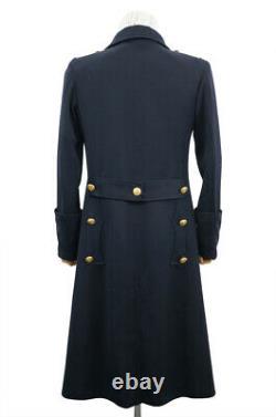 WW2 German Kriegsmarine Officer Gabardine Greatcoat