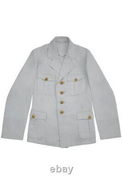 WW2 German Kriegsmarine Officer Summer white Jacket tunic M