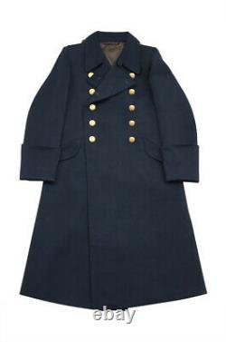WW2 German Kriegsmarine Officer wool Greatcoat