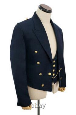 WW2 German Kriegsmarine Officers Mess Dress & Vest XL