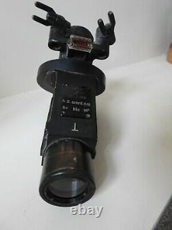 WW2 German Kriegsmarine/Uboat Zeiss/BLC 5x14° 88mm Deck Sight