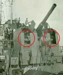 WW2 German Kriegsmarine ZEISS B. Z C/2 5x/10x SHIP NAVAL GUN BINOCULARS RARE