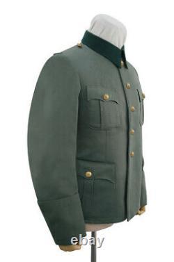 WW2 German Kriegsmarine coastal M36 officer Gabardine service tunic Jacket L