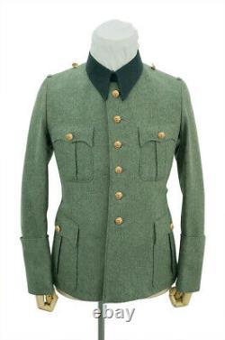 WW2 German Kriegsmarine coastal M41 officer wool service tunic Jacket M