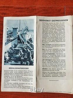WW2 German Kriegsmarine mine HAPAG Cobra, Swan, Schiff navy boat war cruise ship