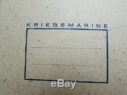 WW2 German Kriegsmarine notebooks 100% original and rare