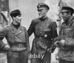 WW2 German Leather Panzer, Jacket, Michael Wittman, Tanker, Kriegsmarine Jacket