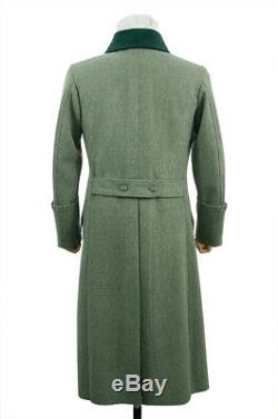 WW2 German M36 Kriegsmarine Coastal EM Fieldgrey wool Greatcoat
