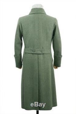 WW2 German M40 Kriegsmarine Coastal EM Fieldgrey wool Greatcoat L