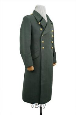 WW2 German M40 Kriegsmarine Coastal Officer Gabardine Greatcoat M