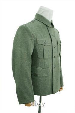 WW2 German M40 Kriegsmarine coastal field wool tunic Feldbluse 2XL