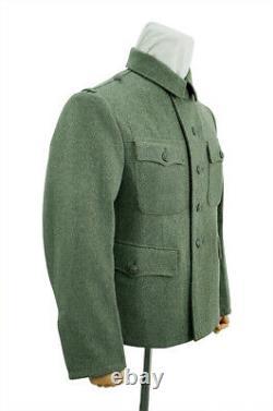 WW2 German M42 Kriegsmarine coastal field wool tunic Feldbluse 3XL